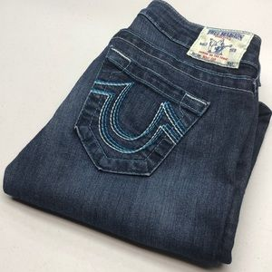 TRUE RELIGION BOOTCUT JEANS MADE IN USA 26x30 🦋
